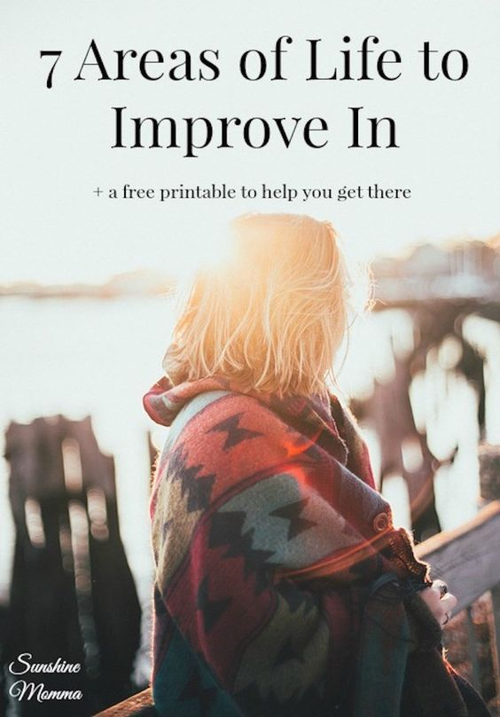 7 Areas To Improve Your Life