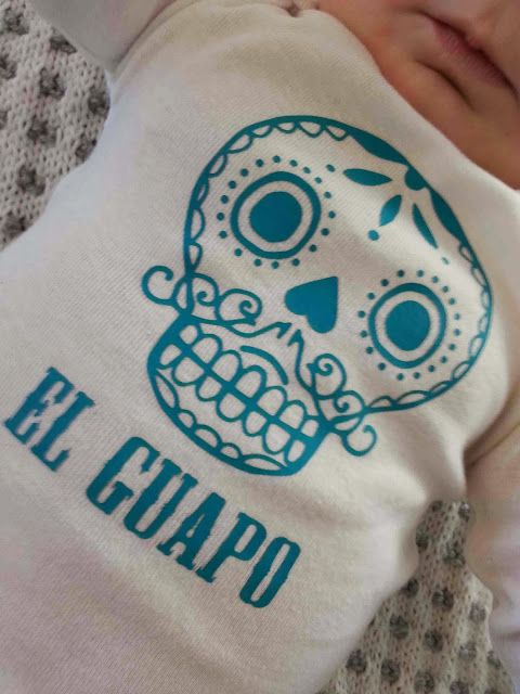 6c6eb9985e05 Made by Me. Shared with you.  KCW  Day 1- Sugar Skull Onesie