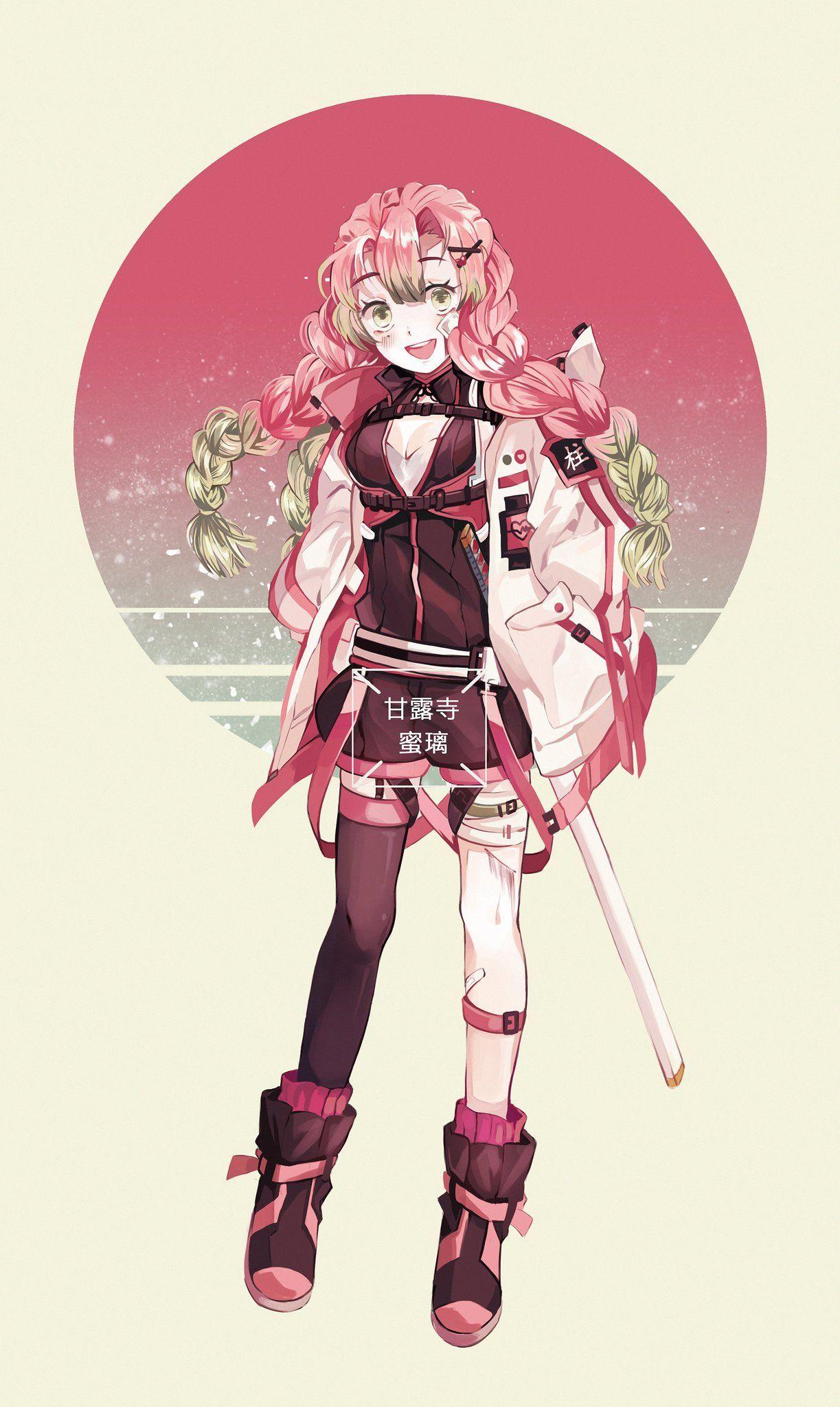 kimetsu no yaiba,mitsuri Anime demon, Anime characters