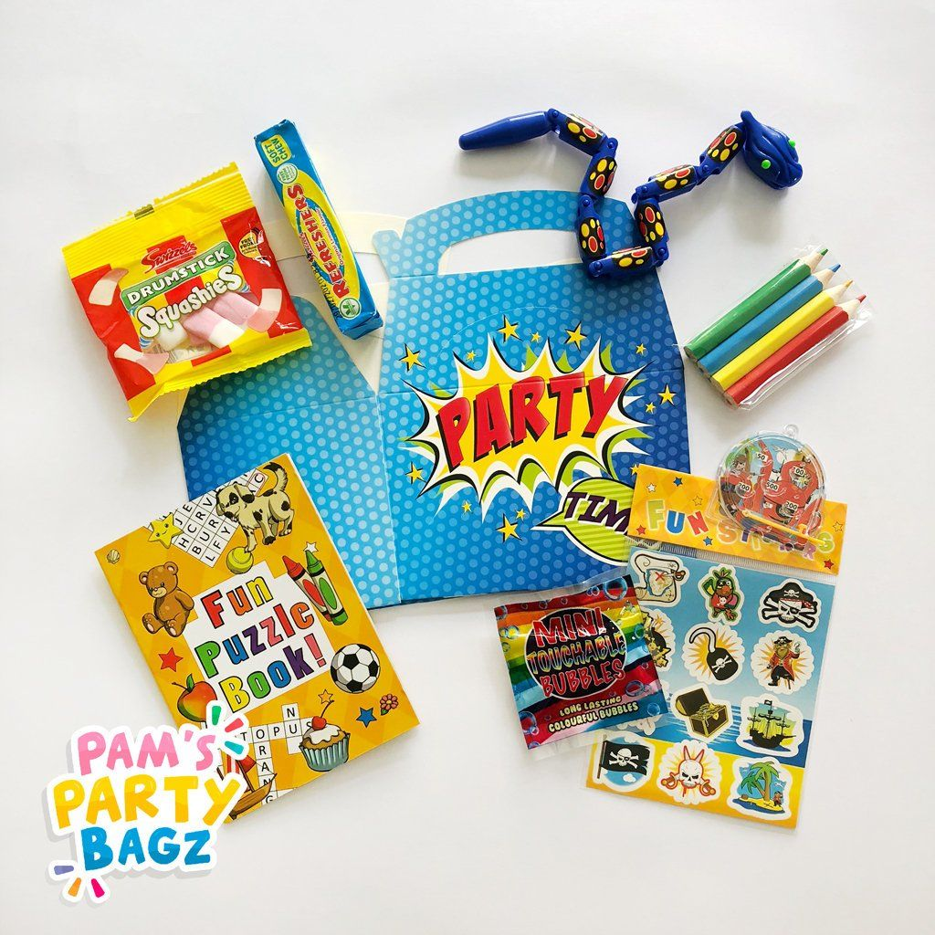 Excited To Share The Latest Addition To My Etsy Shop Pre Filled Party Time Party Box Https Etsy Me 2oqh9ao Papergoo Party In A Box Bubble Party Party Time