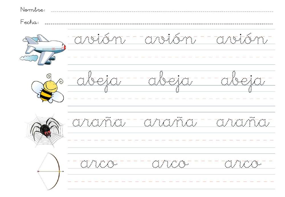Practicar Letra Cursiva Para Niños Búsqueda De Google Abecedario Letra Cursiva Escritura Cursiva Palabras En Cursiva