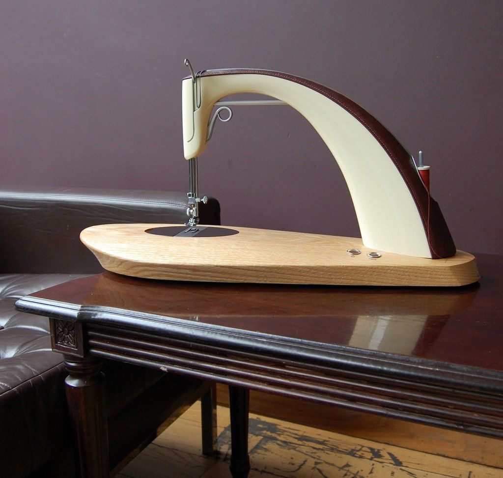 Image result for futuristic wooden sewing machine