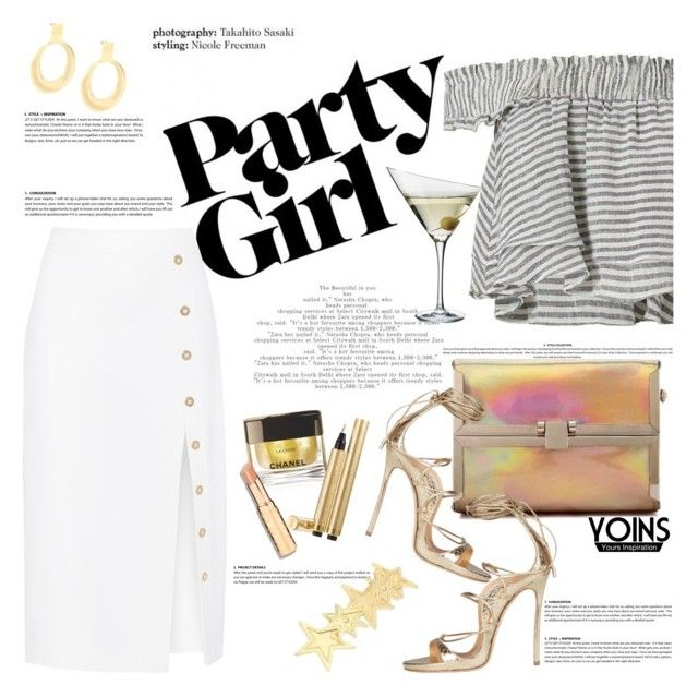 """Party with Yoins"" by naki14 ❤ liked on Polyvore featuring Apiece Apart, Cushnie Et Ochs, Chanel, Yves Saint Laurent, Eva Solo, Dsquared2, yoins, yoinscollection and loveyoins"