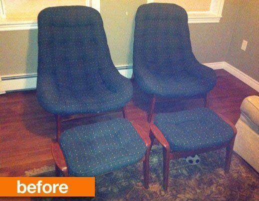 Before & After: The Fate of Sheryl's Vintage Chairs Good Questions Revisited