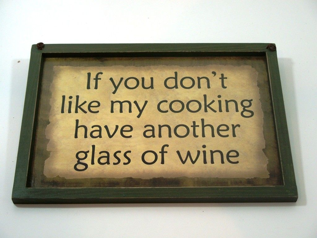 Rustic Wood Wine Sayings Themed Signs Wall Art Plaques   Rustic ...