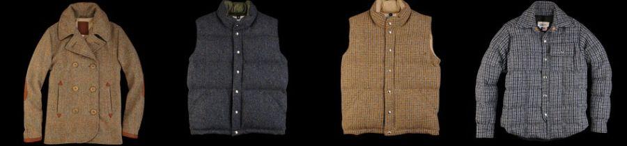 Unionmade + Harris Tweed    Tweed