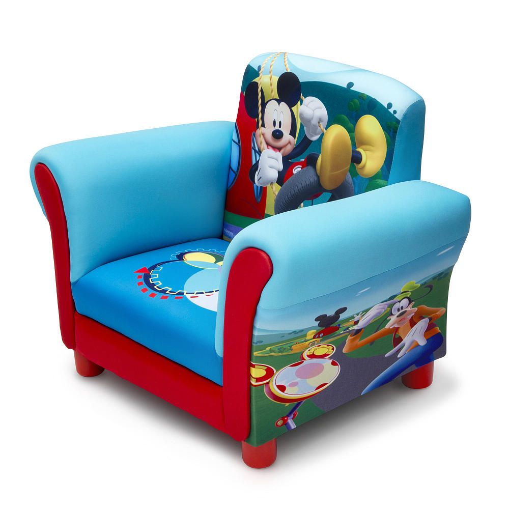 Exceptional Disney Mickey Mouse Upholstered Chair