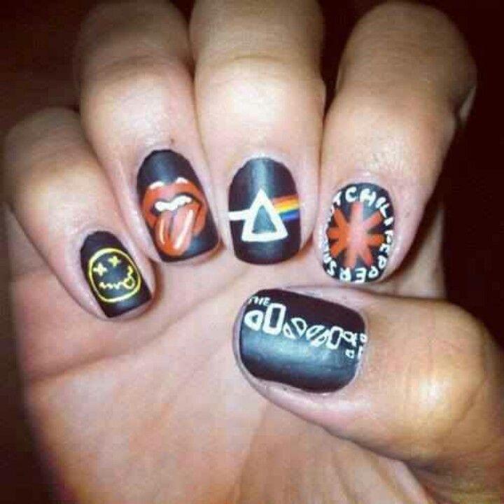 21 Times Music Fans Won The Nail Art Game Nails Nails Nails