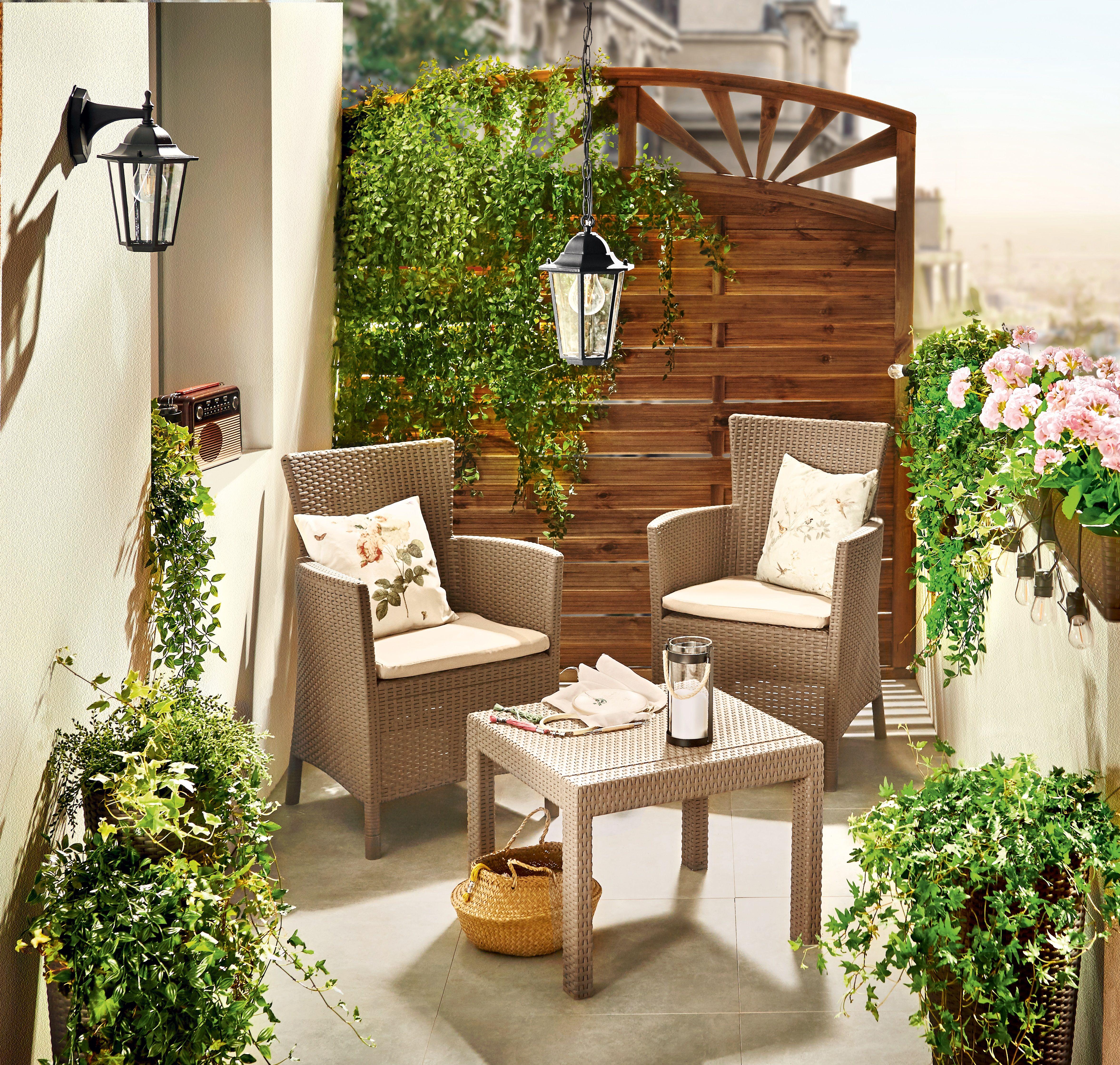Ogrod Na Balkonie Outdoor Furniture Sets Outdoor Furniture Outdoor Decor
