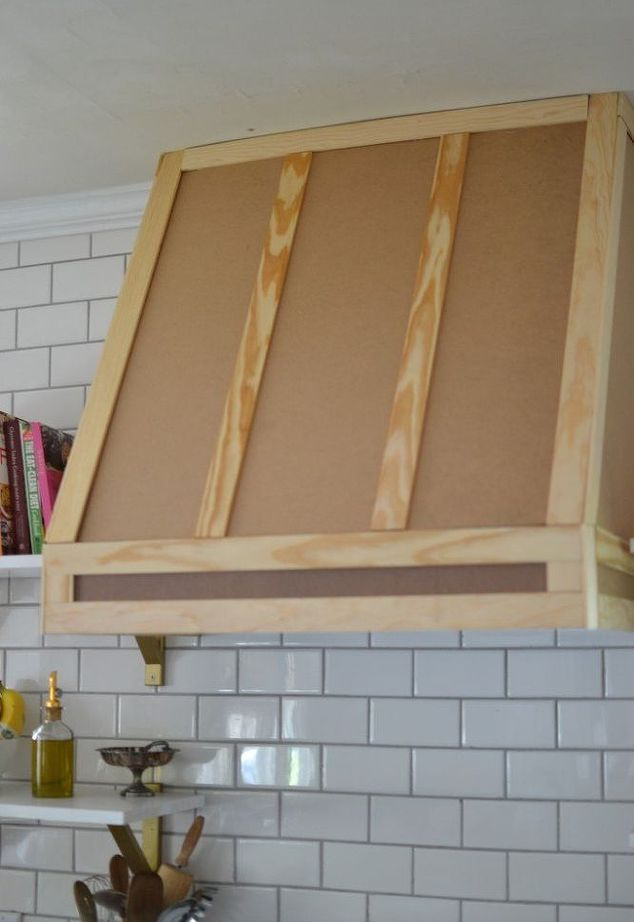 How I Built A Range Hood Cover | House Flip | Pinterest ...