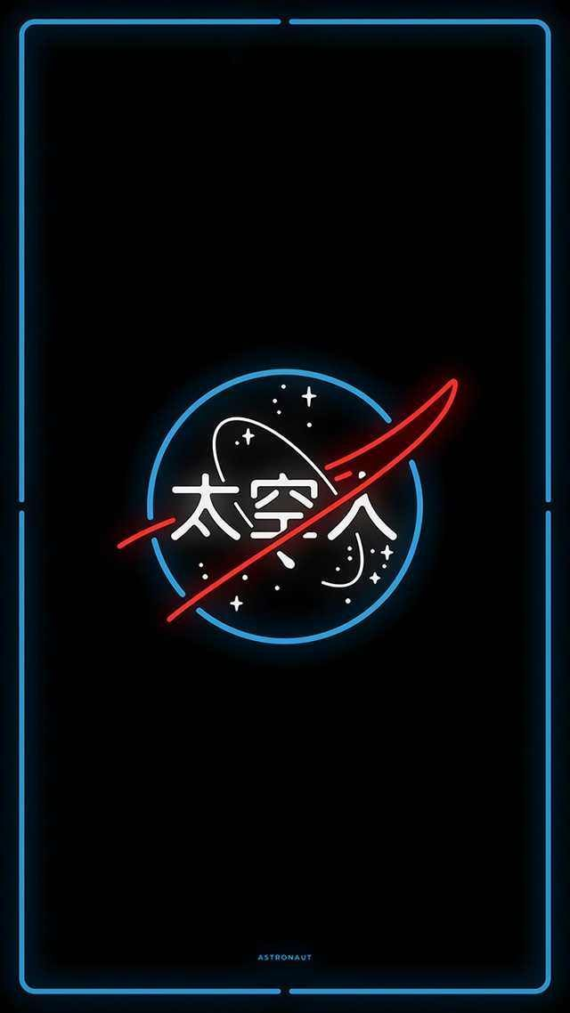 Neon-NASA – #NeonNASA # Tapete – New Ideas
