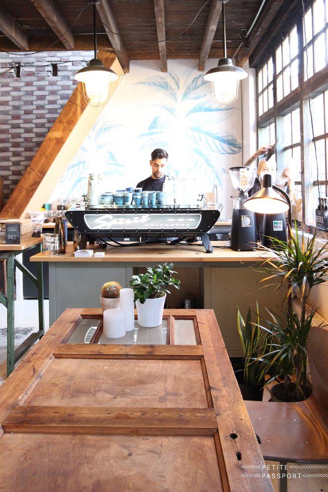 Stadsbranderij Eindhoven Petite Passport Cafe Interior Coffee Shop Design Cafe Design