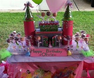 DIY ~ Olive's Birthday Princess Pops + Castle :)