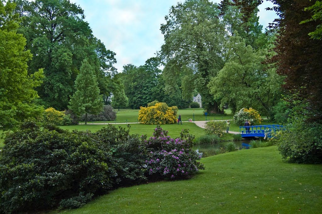 park mu akowski park von muskau muskauer park lub f rst p ckler park parques jardines. Black Bedroom Furniture Sets. Home Design Ideas