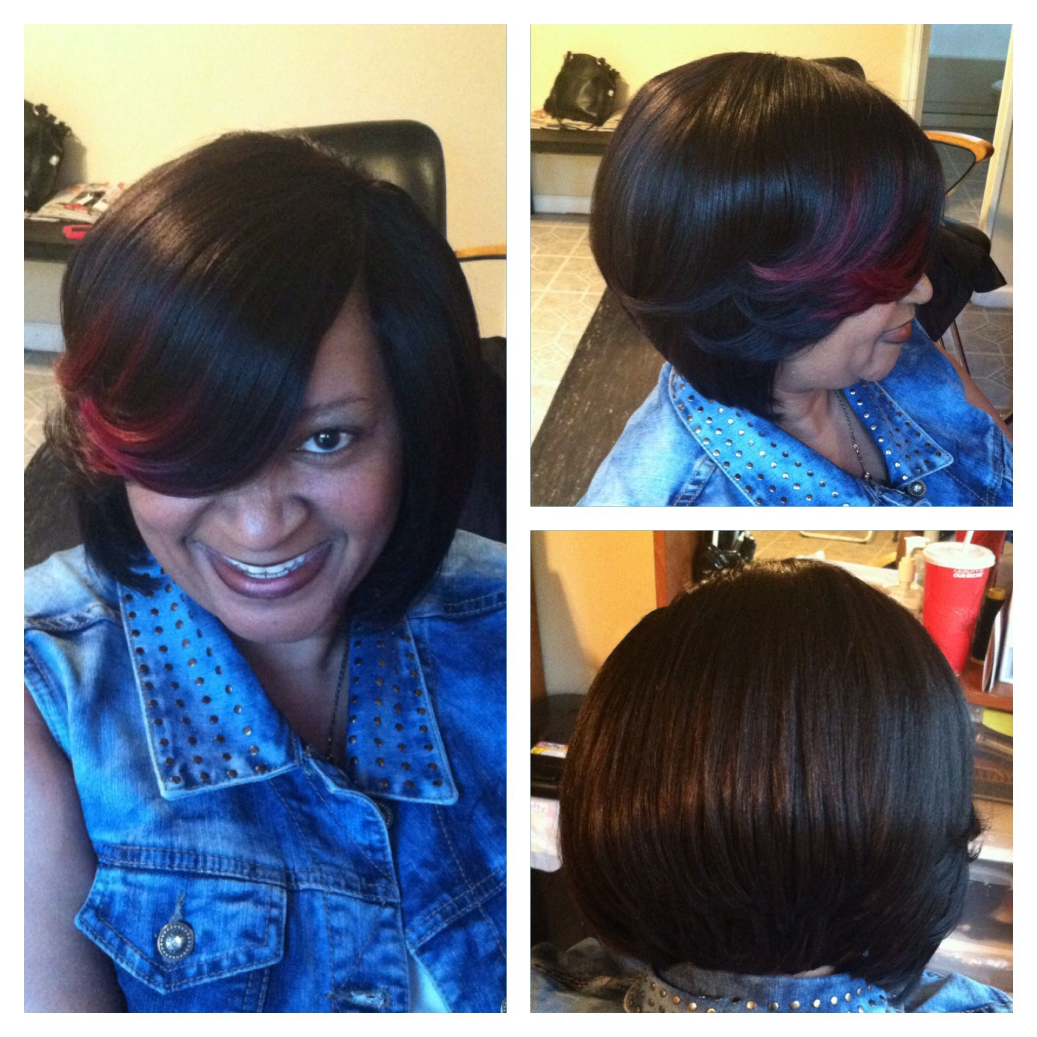 weave styles with no hair out invisible part bob hairstyles fade haircut 1229