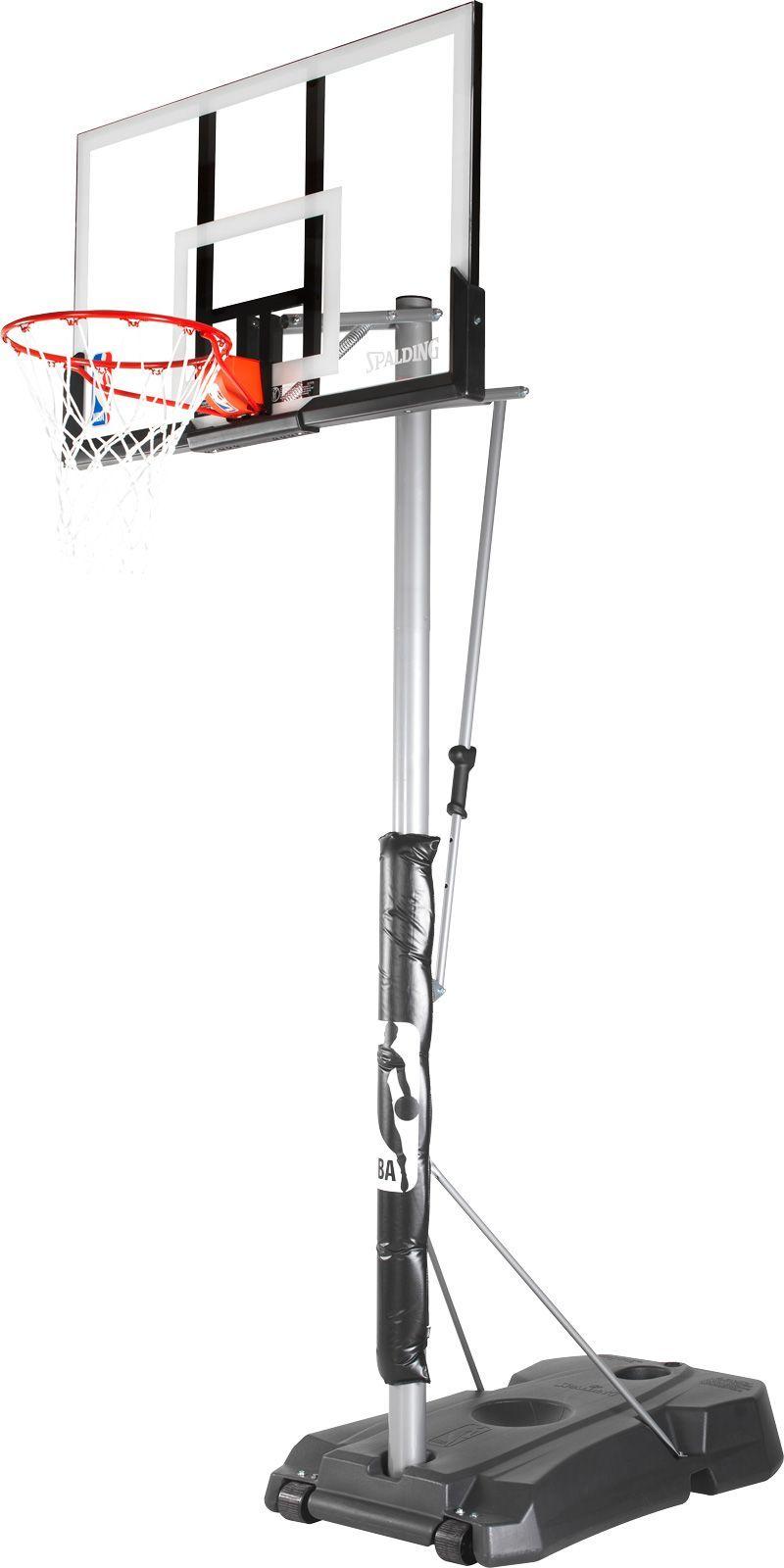 Spalding Hercules 52â Acrylic Portable Basketball Hoop