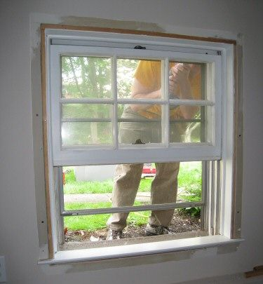 How To Install A Replacement Window Diy Window Replacement Home Window Replacement Installation