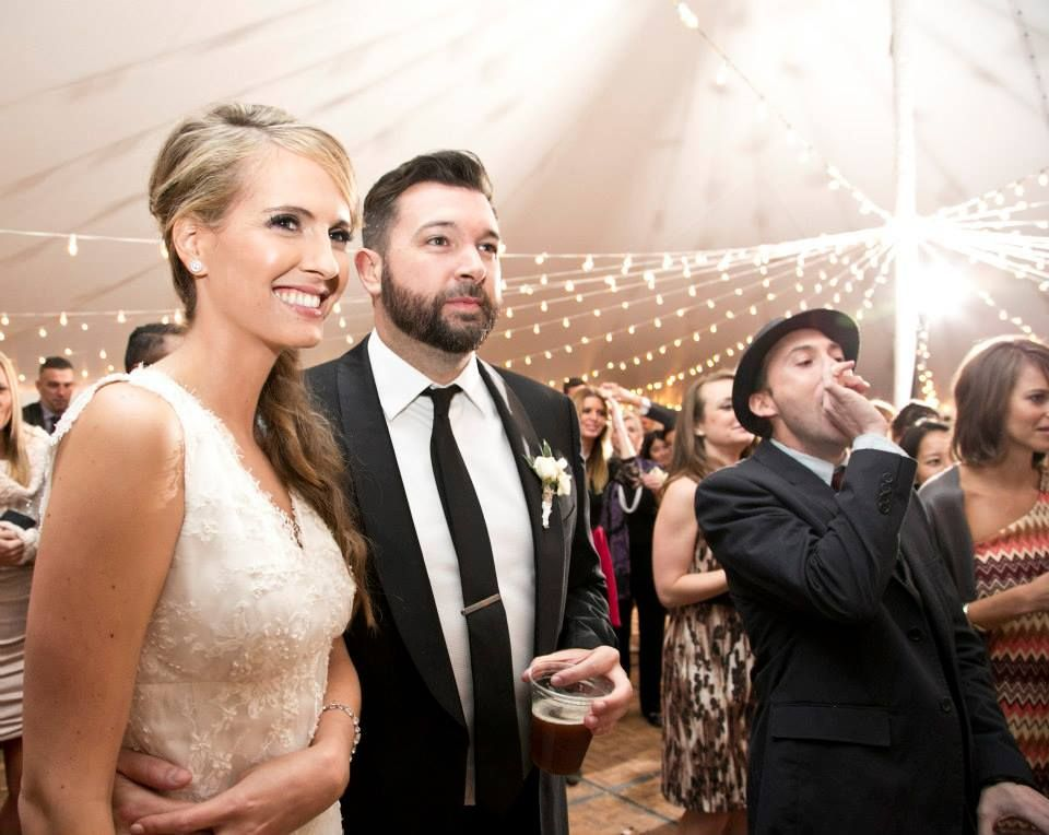 Love Faith Wedding Reception Surprise Bride Groom Guests
