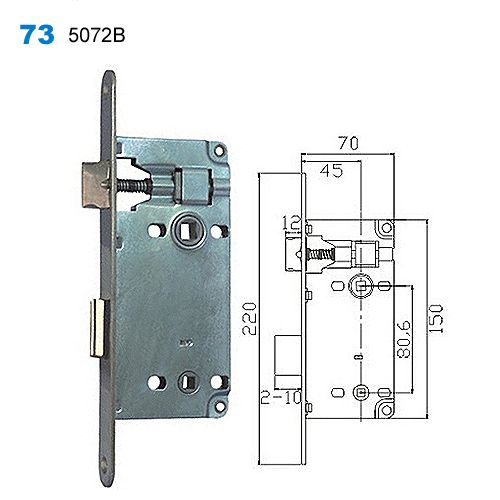 Superb Exterior Door Lock,security Lock Mechanism,yale Lock,Drzwi Egoline,двери  входные