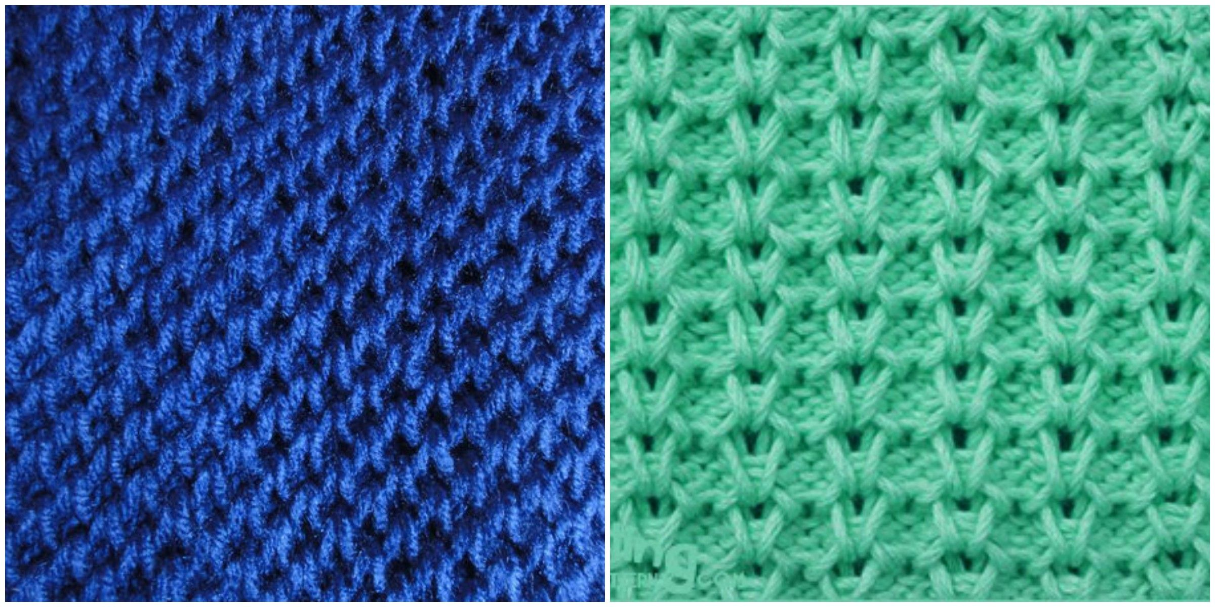 Knitting Stitches Honeycomb : How to Knit the Honeycomb Brioche Stitch Crochet Patterns And Video Tutoria...
