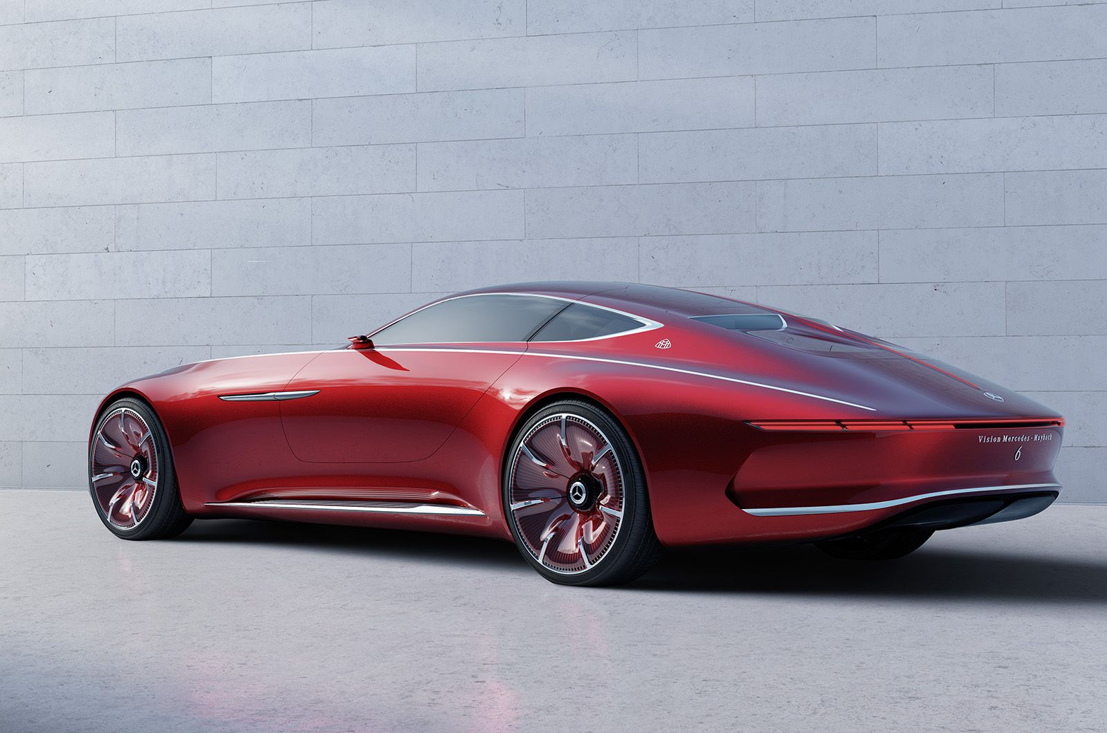 Vision Mercedes Maybach 6 Electrical Car Concept #car #electro #vision  #concept
