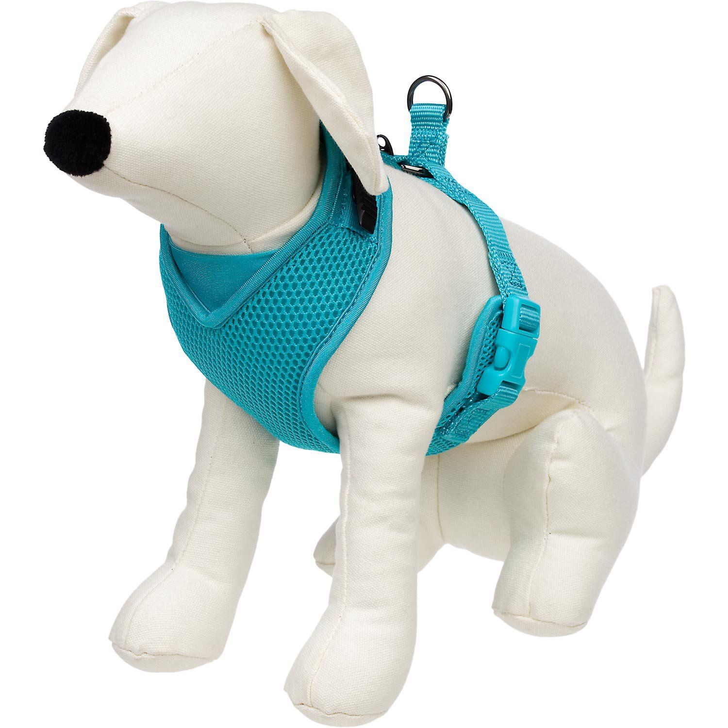 Petco Adjustable Mesh Harness For Dogs In Teal Petco Store Dog Safety Harness Dog Harness Red Dog Collar