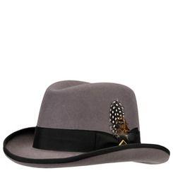 c5fae656cd1 Stacy Adams Men s Wool Felt Hat