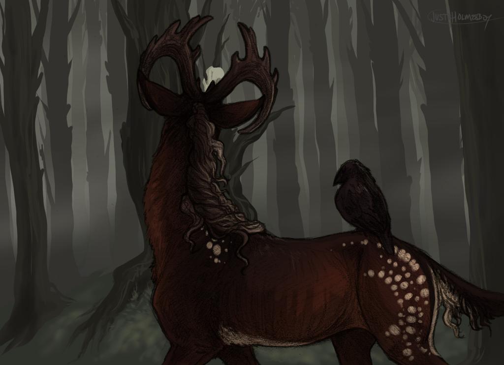 The Wolf's Gaze - Art by WhiteLionsOrchard