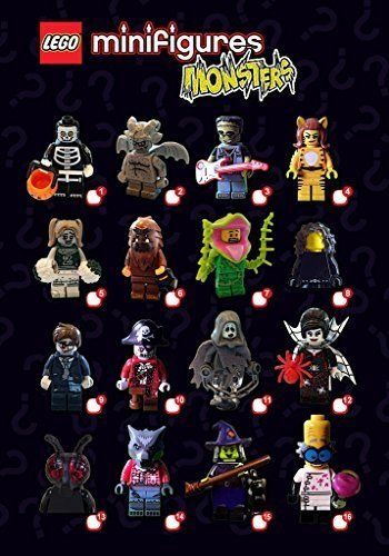 LEGO NEW SERIES 14 71010 HALLOWEEN SEALED CASE OF 60 MINIFIGURES MINIFIG BOX