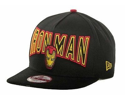 d8d4f240e16 New era -  9fifty a  frame snap back cap. iron man 3.