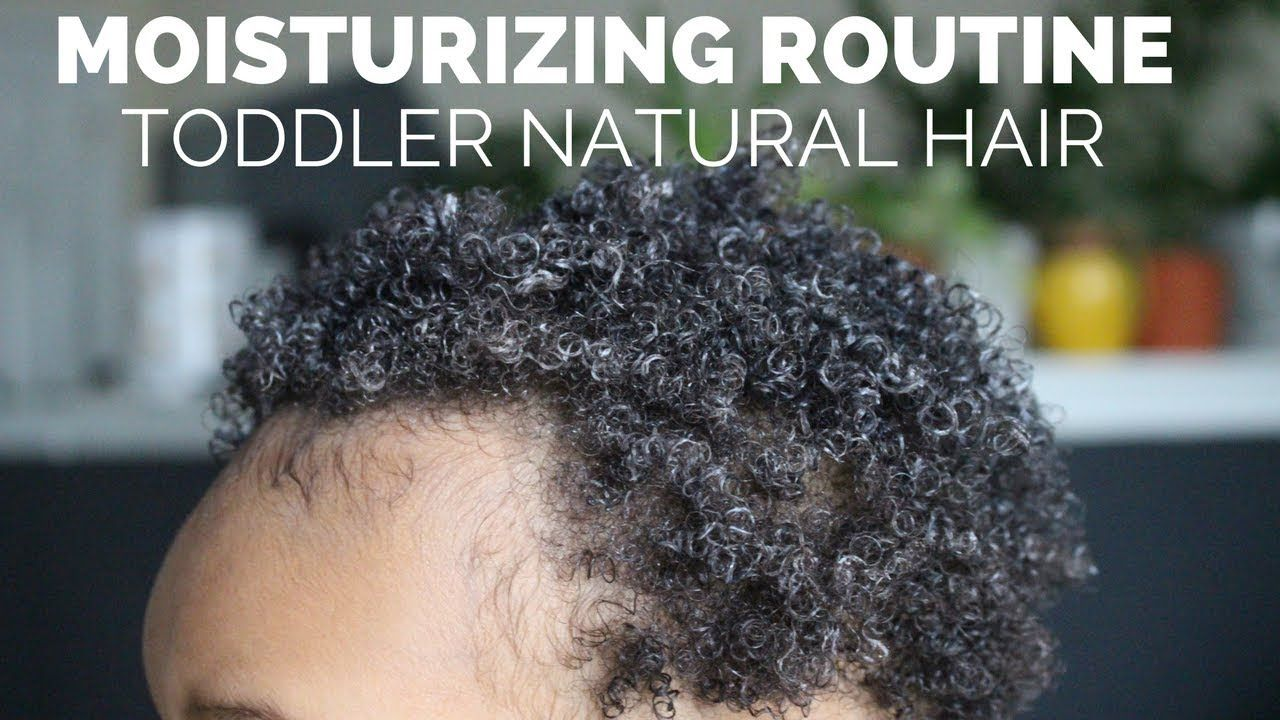 Natural Hair Toddler Boy Condition And Style 3c 4a Youtube
