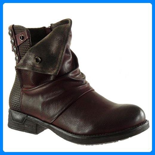 Angkorly Damen Schuhe Stiefel Reitstiefel Kavalier
