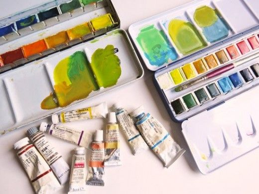 The Best Watercolour Paints For Artists Think