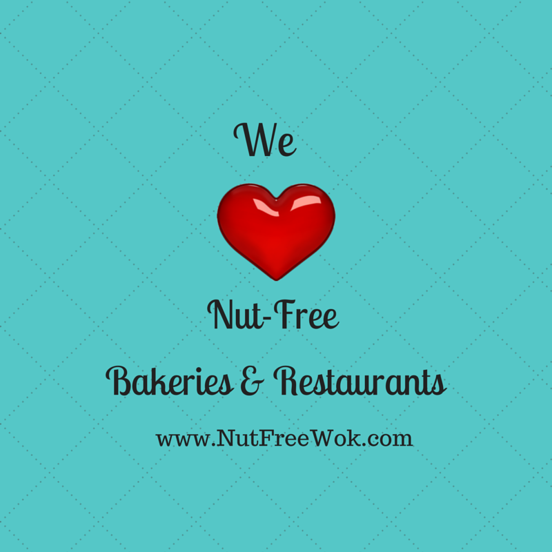 We love nut free bakeries and restaurants