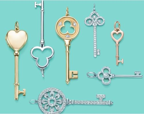 Key jewelry tiffany tiffany key and key pendant for some of us who want to wear key pendant necklaces on casual days and cant afford tiffanys price range mozeypictures Image collections
