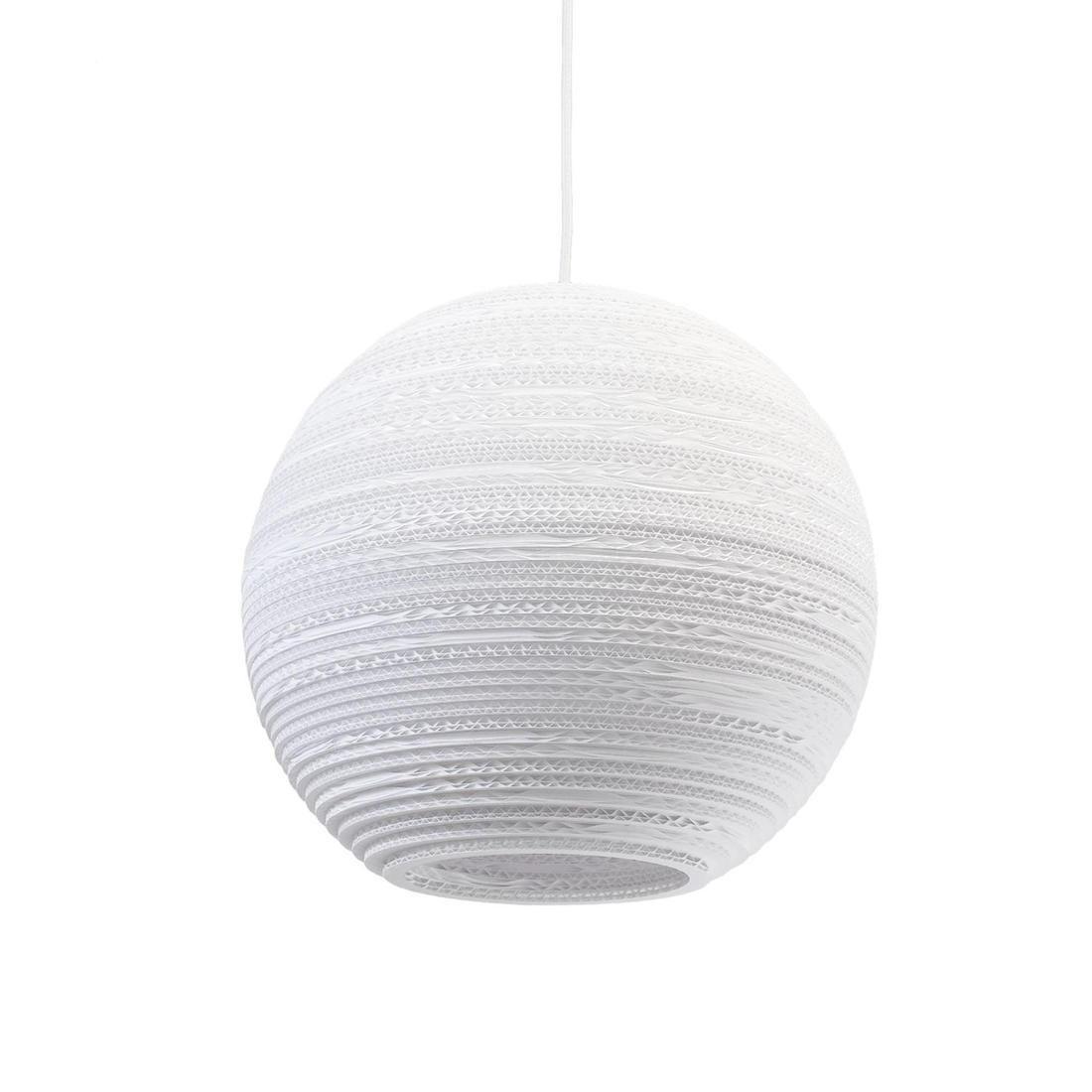 Suspension Carton Blanc ˜36cm MOON
