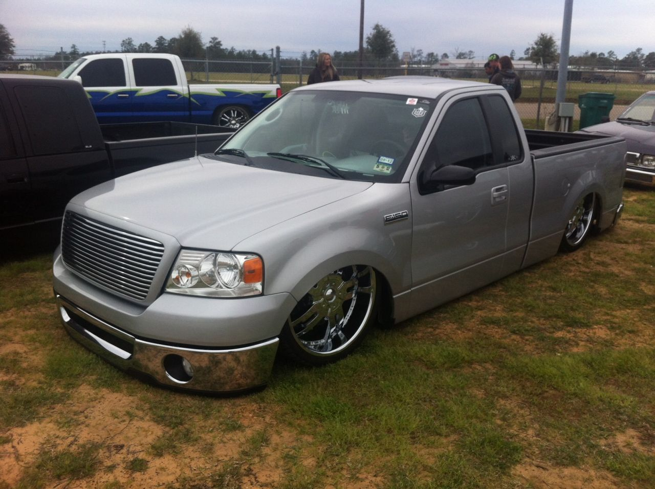 F-150 lowered | Lowered Trucks | Pinterest | Ford trucks ...  F-150 lowered |...