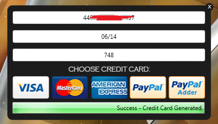 fake credit card numbers with cvv and expiration date that works