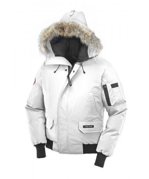 CANADA GOOSE CHILLIWACK BOMBER MEN White 7950M