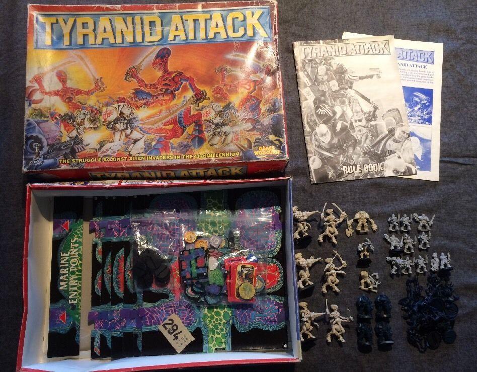 Warhammer 40k Tyranid Attack 1st.edition board game