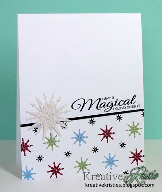 Kreative Kristie: Stamp Of Approval Holiday Magic Collection Blog Hop!