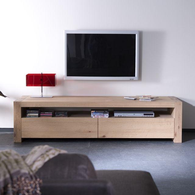 Meuble Tv Double Ethnicraft Mobilier De Salon Meuble Tv Meuble Design