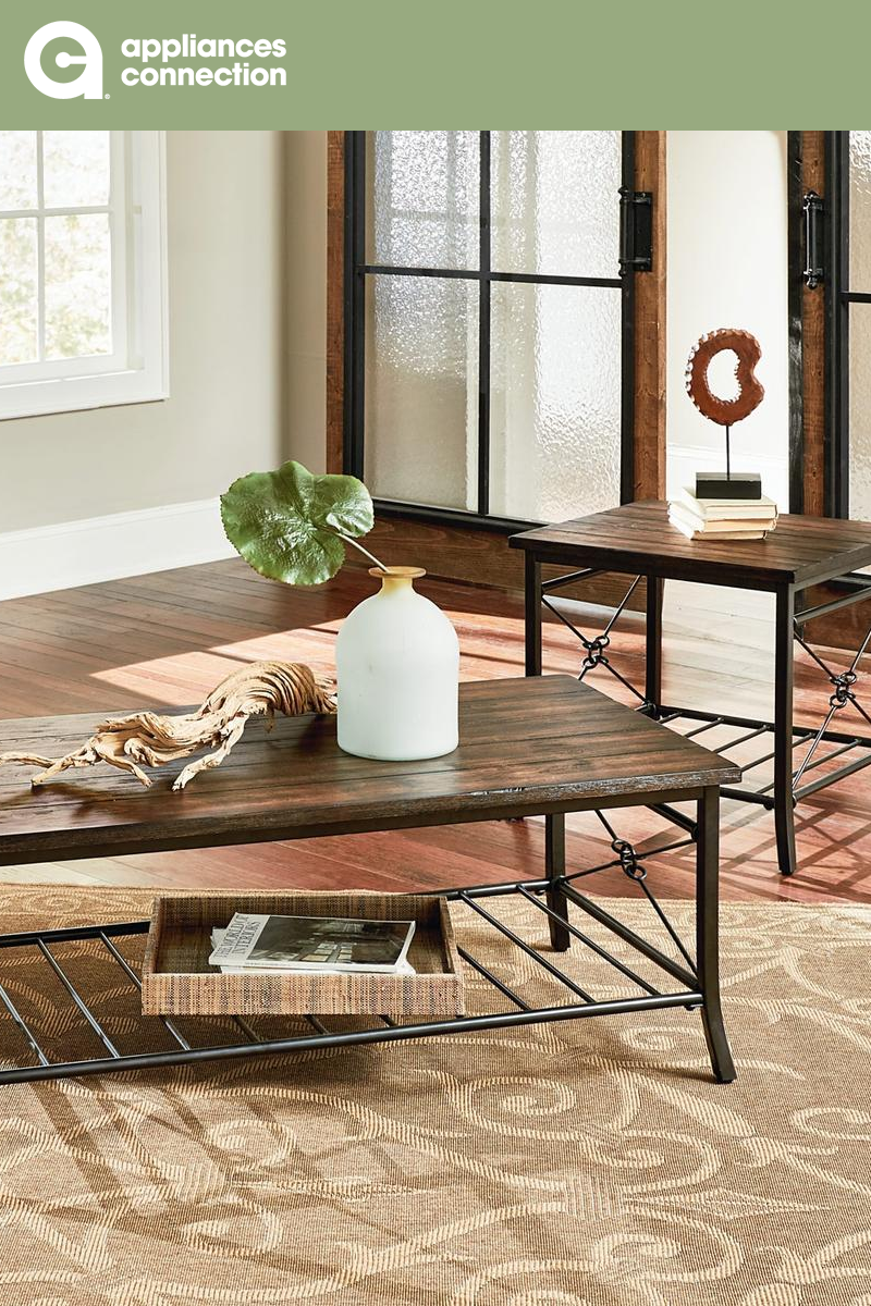 10+ Amazing Rustic Living Room Table Sets