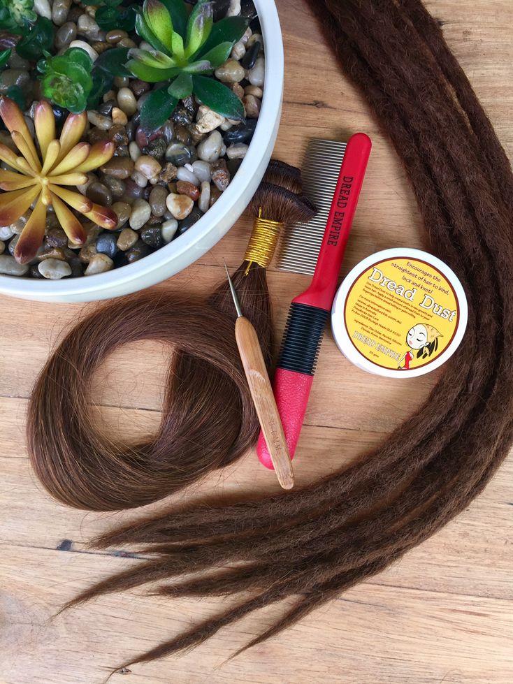 Human Hair DIY Dreadlock Extensions Install & Care