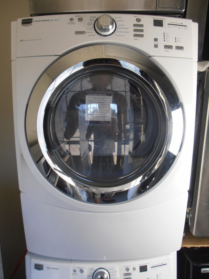 Details About Maytag Washer Electric Dryer Combo Duet 5000 4000