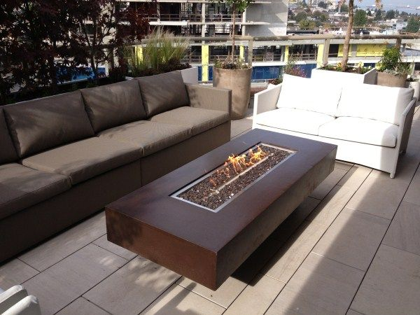 Bonfire Concrete Fire Table   30