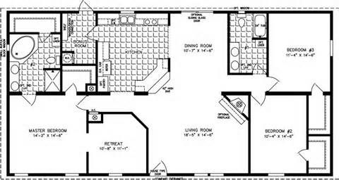 1800 Square Foot House Plans One Story Google Search Manufactured Homes Floor Plans Modular Home Floor Plans Barndominium Floor Plans