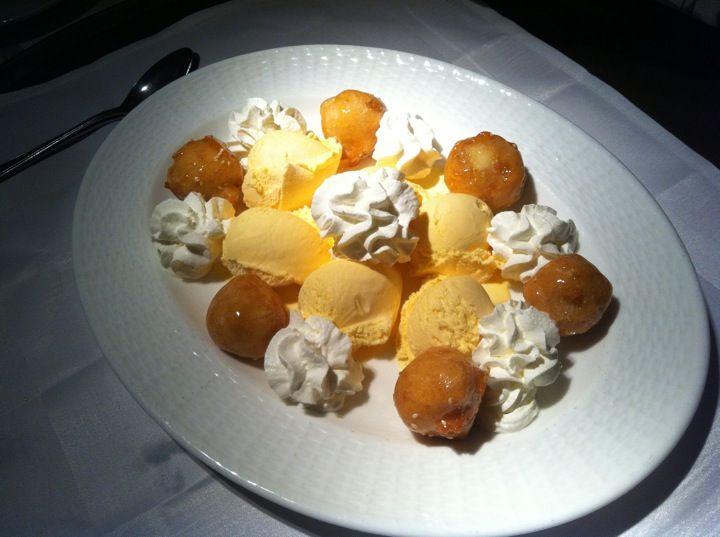 Toffee banana and apple dessert!