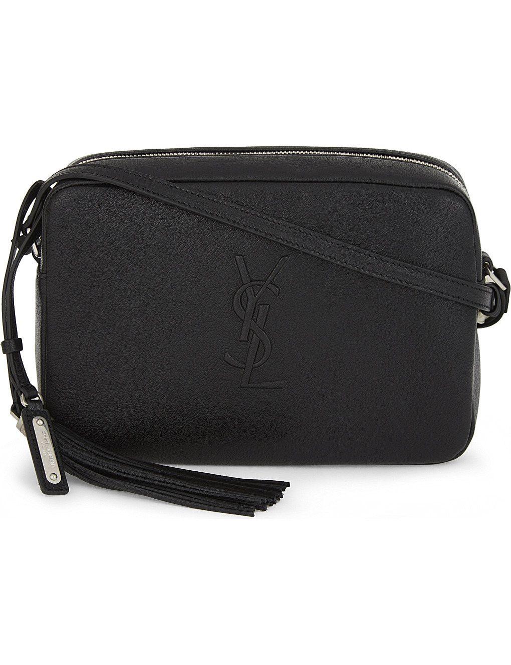 889db79eed31 SAINT LAURENT Monogram LouLou leather cross-body bag