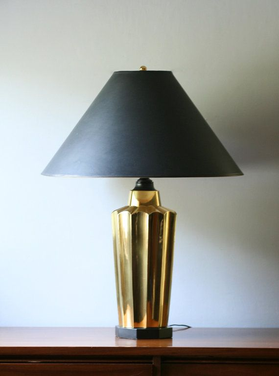 Reserved for debass table lamp black shade hollywood reserved for debass table lamp black shade hollywood aloadofball Gallery